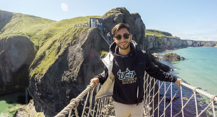 USF student abroad