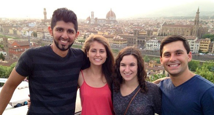 USF World students studying abroad