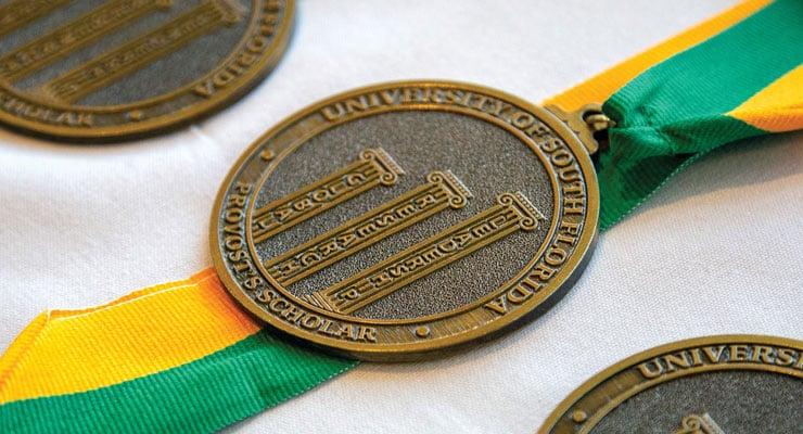 USF Provost's Scholars Program medals