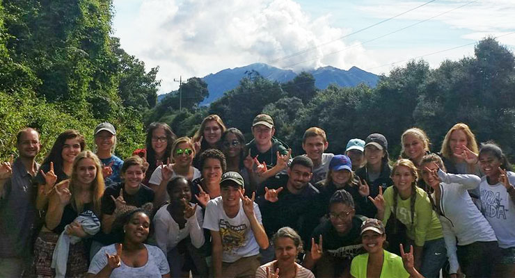 USF Summer ACE Students on a study abroad trip