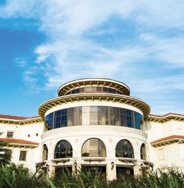 Building located at USF Sarasota-Manatee.